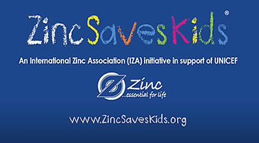 Zinc Saves Kids is an initiative to improve the survival, growth and development of undernourished children by funding UNICEF's zinc supplementation program.