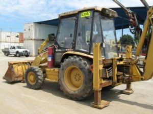 Caterpillar 428C Backhoe
