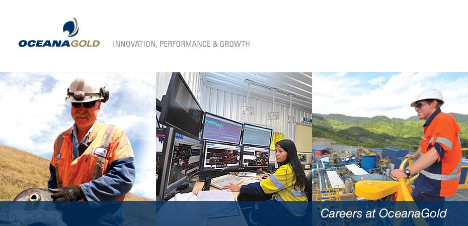 OceanaGold Corporation - Online Mining Job Fair - Where Mining Finds ...