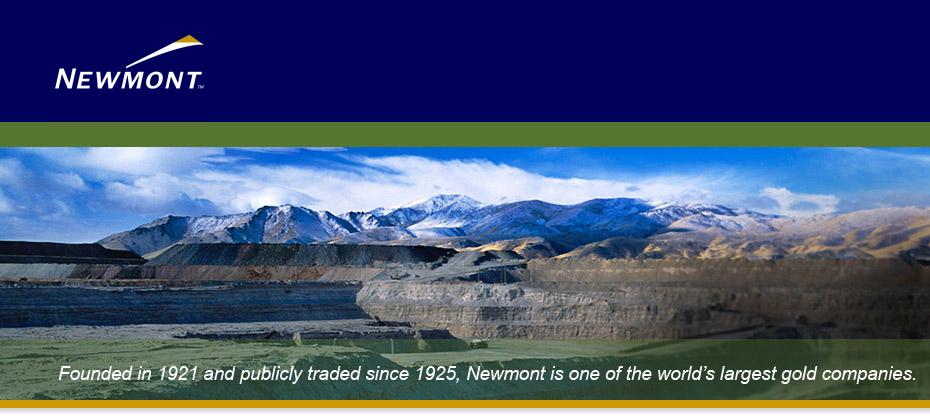 Newmont Mining Corporation A Mining Employer Of Choice