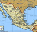 Political Map of Mexico: Click Here to Enlarge
