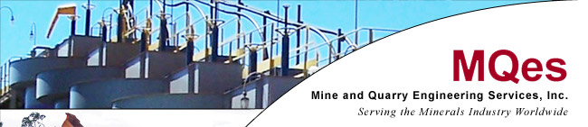 Mine and Quarry Engineering Services, Inc - Securing the Minerals Industry Worldwide