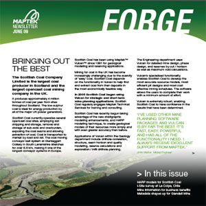 "Click here to view the latest edition of the ""Forge"","