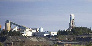 Goldcorp Narrow-Vein Mining Equipment