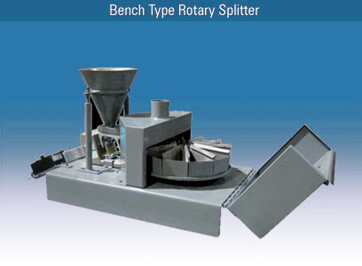 Bench Type Rotary Splitter