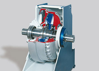 Fill-controlled fluid coupling type TPKL