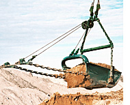 Columbia Steel dragline riggine