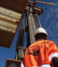 The DeviDrill packages include technicians to steer, survey and maintain the directional core drilling.