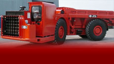 DUX ET-24 ejector truck brings high capacity hauling capabilities to areas previously limited to scoop loaders